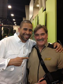 Don Edwards w/ HGTV's Ahmed Hassan